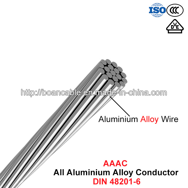 AAAC Conductor, All Aluminium Alloy Conductor (DIN 48201-6)