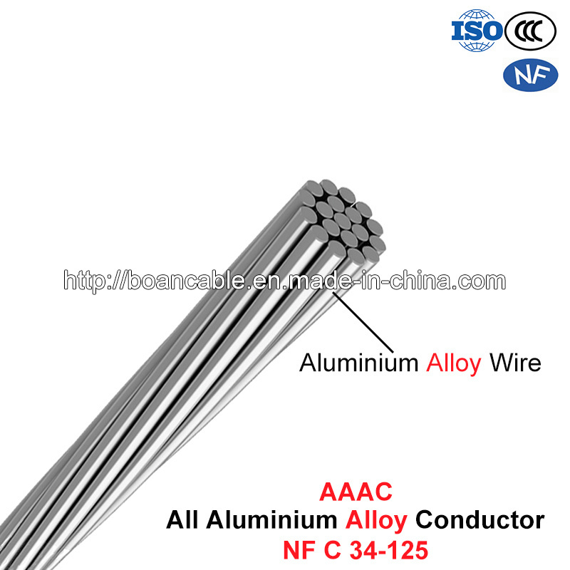 AAAC Conductor, All Aluminium Alloy Conductor (Nf C 34-125)