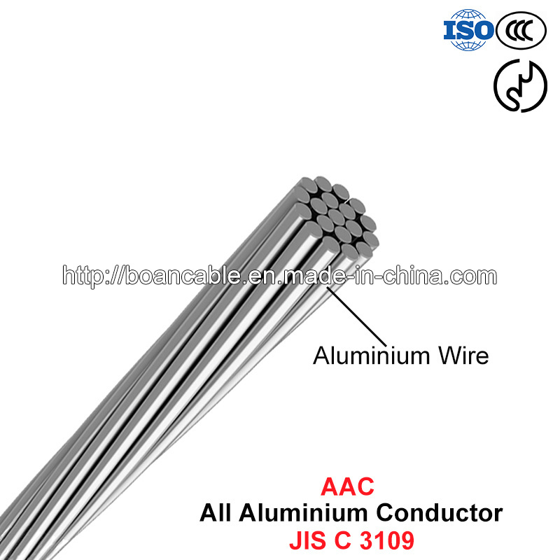AAC Conductor, All Aluminium Conductor (JIS C 3109)