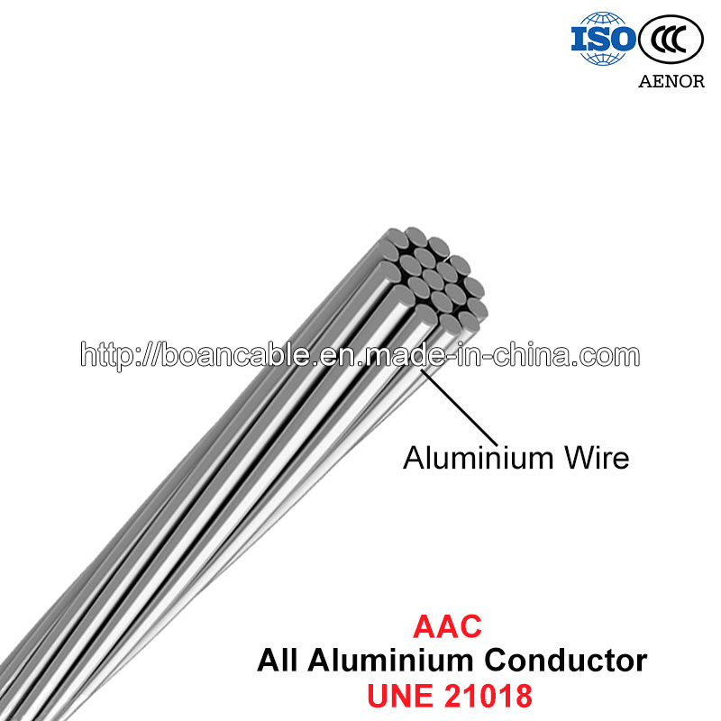 AAC Conductor, All Aluminium Conductor (UNE 21018)