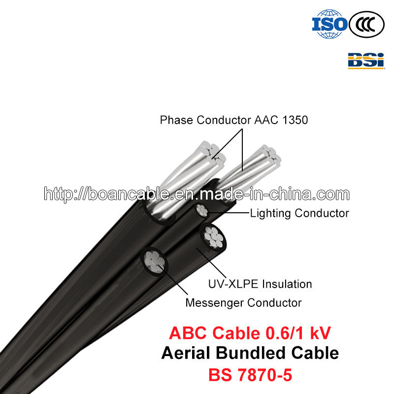 ABC Cable, Aerial Bundled Cable, 0.6/1 Kv (BS 7870-5)