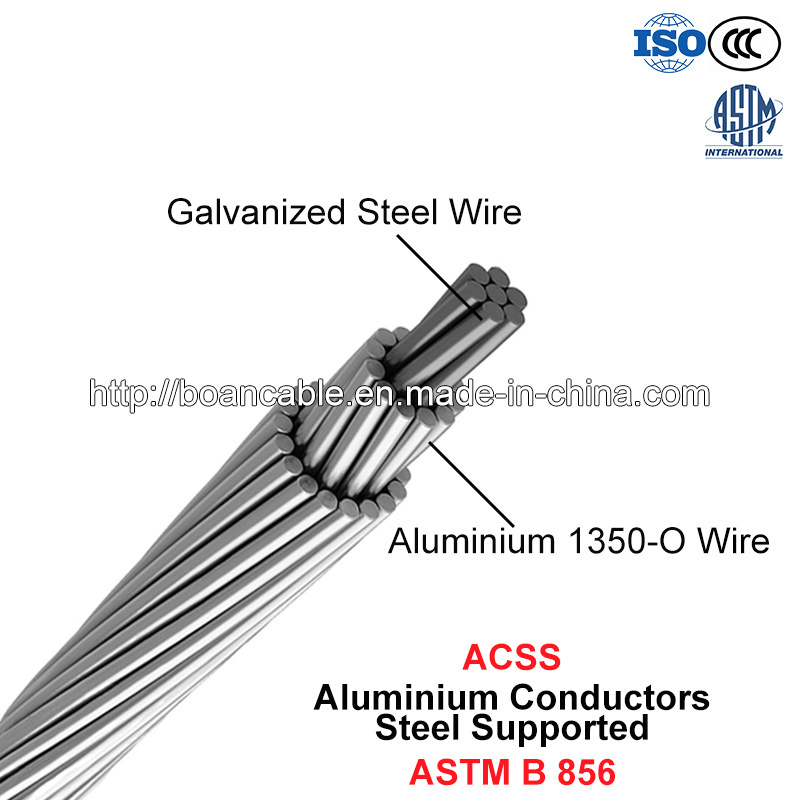 Acss, Aluminium Conductors Steel Supported (ASTM B 856)