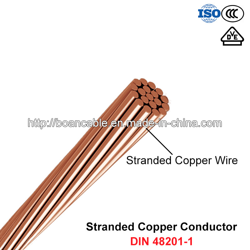 Hdbc, Stranded Bare Copper Conductor (DIN 48201-1)