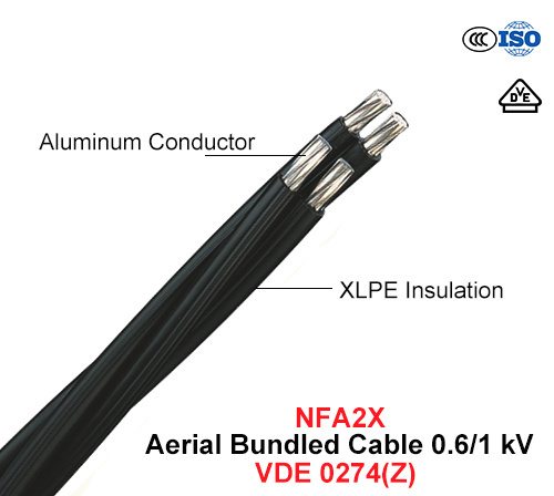 NFA2X, Aerial Bundled Cable (ABC) 0.6/1 Kv (VDE 0274)