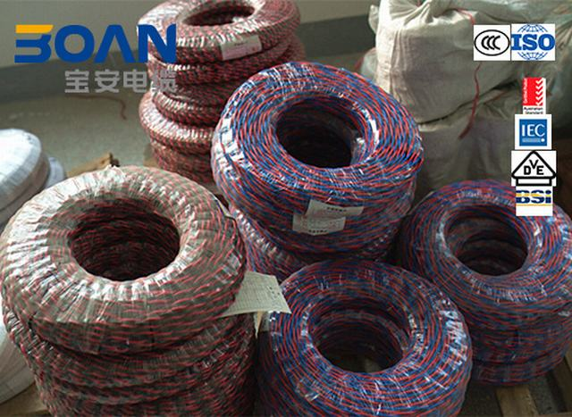Rvs Wire, Twisted Flexible Cu/PVC, Electric Wire, 450/750V, IEC 60227
