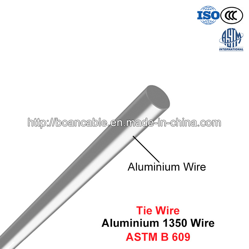 Tie Wire, Solid Aluminum 1350 Wire (ASTM B 609)