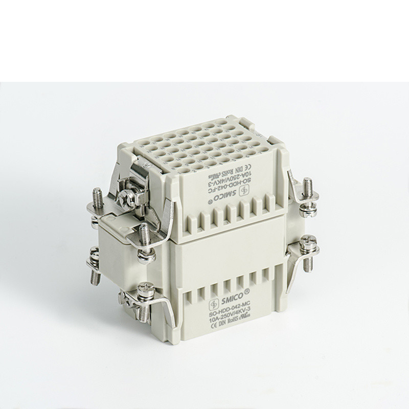 10A Crimp Terminal Electrical Power Heavy Duty Connector (HDD-042)