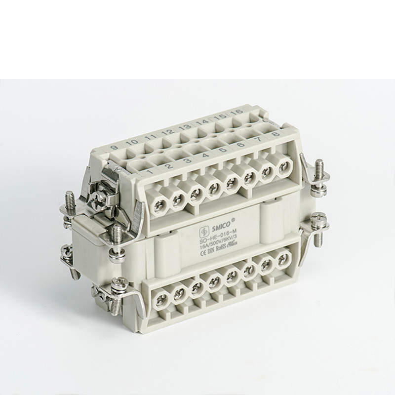 16pin Female Male Heavy Duty Connector with UL Certificate