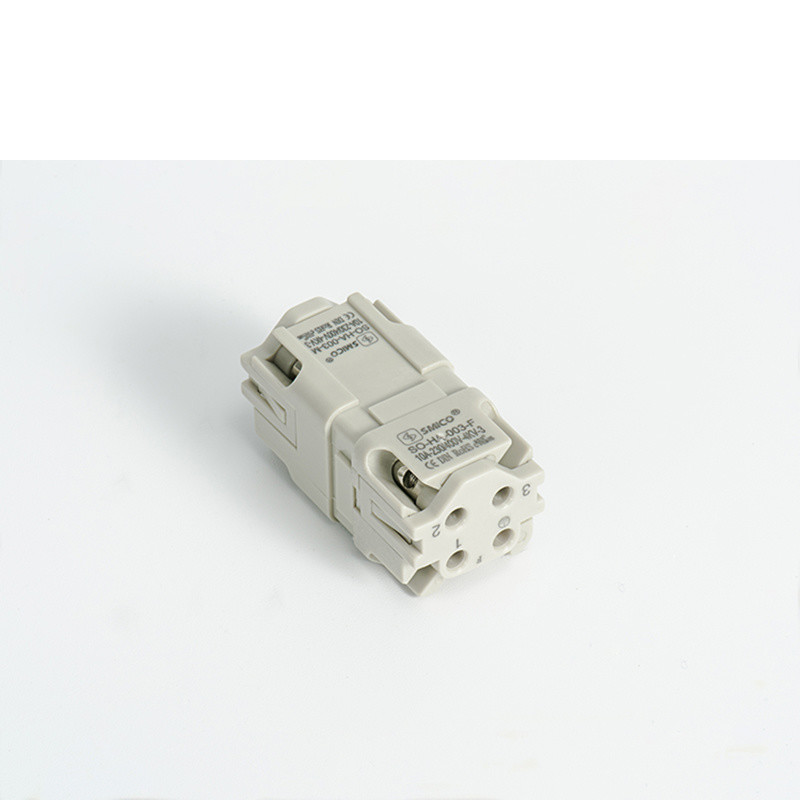 3pin Screw Terminal Rectangular Connector with Ce UL Certificates (HA-003)