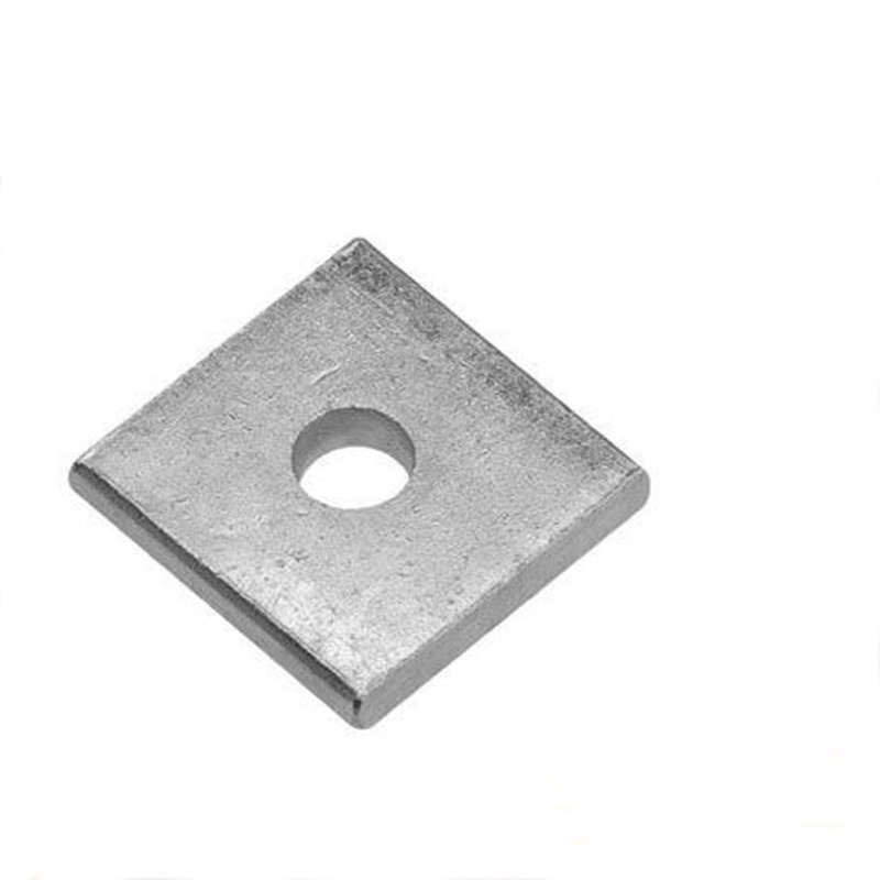 Galvanized Square Washer, Square Plate, Link Hardware Accessories