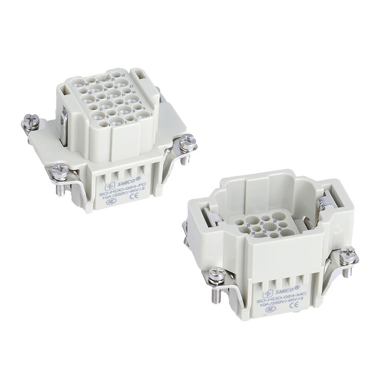HDD-024-Mc/FC Industrial Connector Plug and Socket Heavy Duty Connector