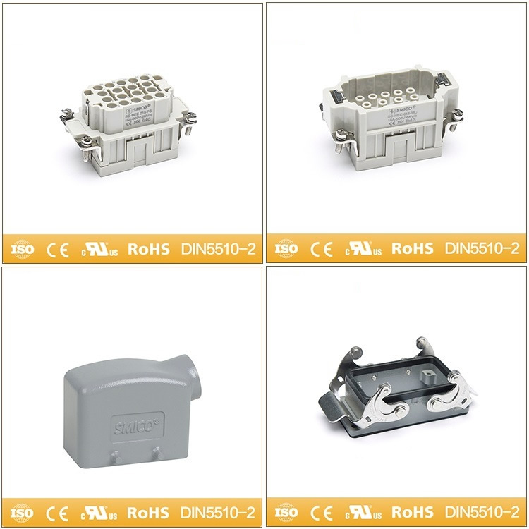 Han Ee Series Crimp Terminal Heavy Duty Connector Male Connector