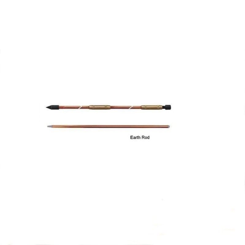 High Quality Copper Clad Steel Earthing Rod, Copper Bonded Earth Rod, Ground Rod