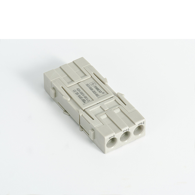 Hm Modular 3pin Crimp Heavy Duty Connector Similar Harting 09140033001