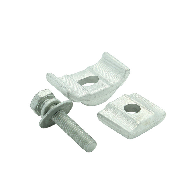 Pg Clamp Aluminium Extruded Parallel Groove Clamps (APG-A2) with One Bolts for Aerial Electrical Fittings