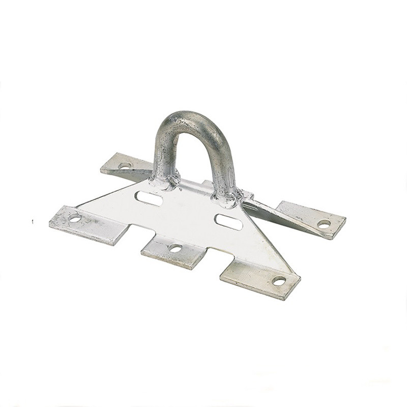 Sm97 Aluminium Casting Pole Anchoring Bracket Hook