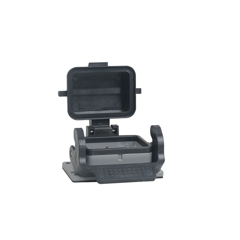 So-H6b-St-CV-1L/S So-H6b-St-CV-1L/S H6b Housing Han 6e Panel Mount with Cover Automotive Connector