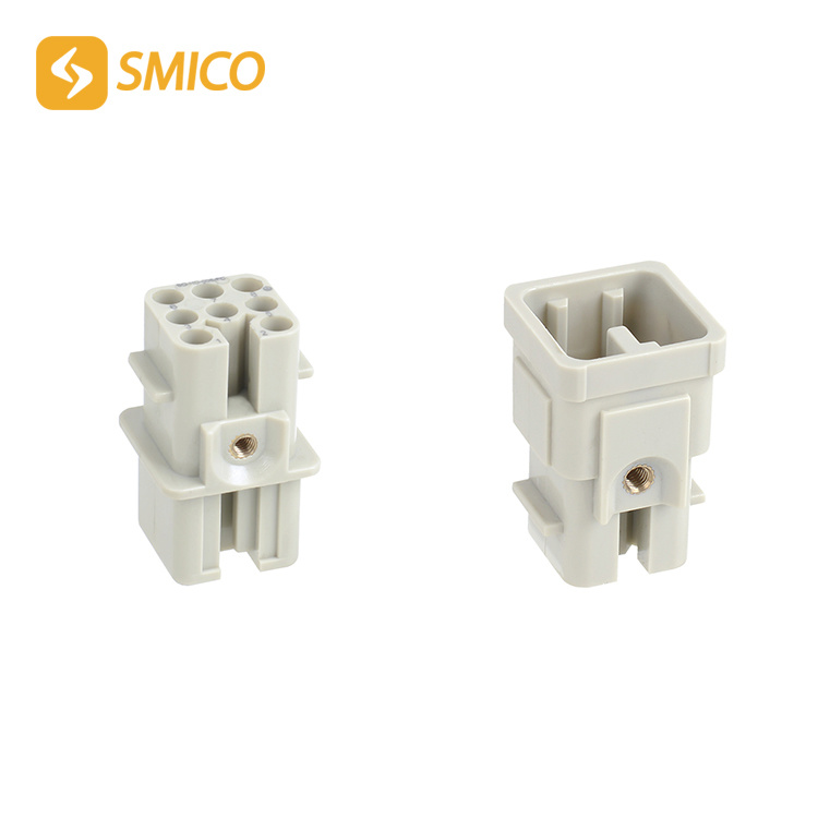 So-HD-008-Mc/FC 8 Pins Crimp Type 120V 10A Heavy Duty Connector