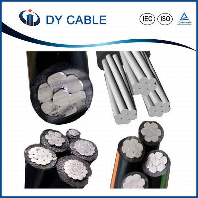 11kv Duplex Service Drop Aluminium XLPE Overhead Aerial Bundled Cable