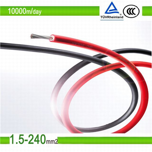 High Quality TUV and UL Approved 4mm2 DC Solar Cable