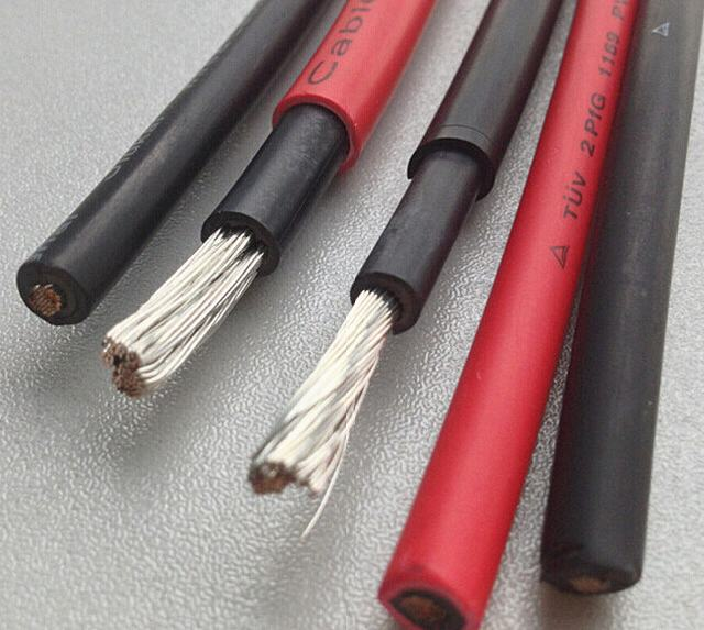 High Quality TUV and UL Approved 6mm2 10mm2 DC Solar Cable