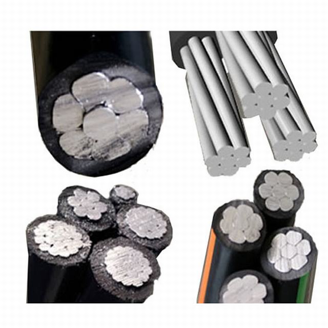 Low/Medium Voltage XLPE Power Cables Bare Aluminium Conductor AAC / ABC Cable