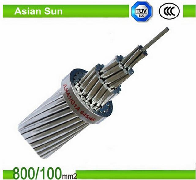 Power Transmission and Distribution ACSR Conductor Steel Reinforced Cable in Drum