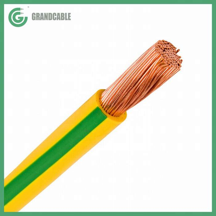 Flexible Electric Cable V/J 1X70mm2 Copper PVC Insulated Wire for 90kV HV Substation