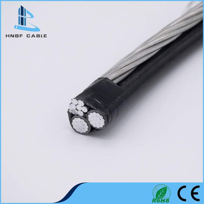 0.6/1kv XLPE Conductor AAC Triplex Cable ABC