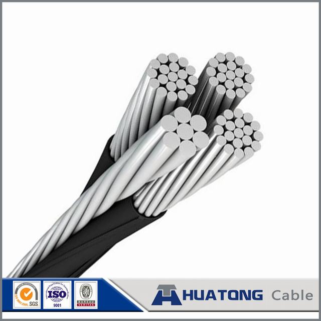 0.6kv/1kv Aluminum Quadruplex Service Drop 3 Phase Cable Price