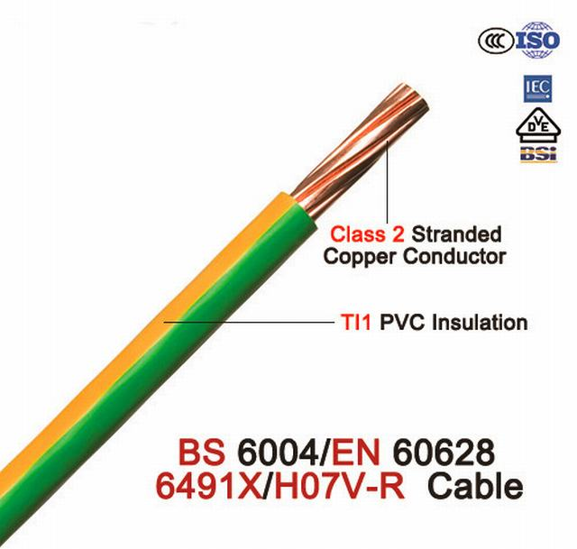 2.5mm 450/750V Copper/PVC Insulated Electric Wires/Building Wire