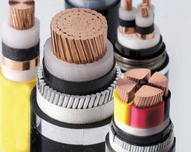 26/35kv Cu/XLPE/Swa/PVC Steel Wire Armoured Copper Electric XLPE Insulation Power Cable