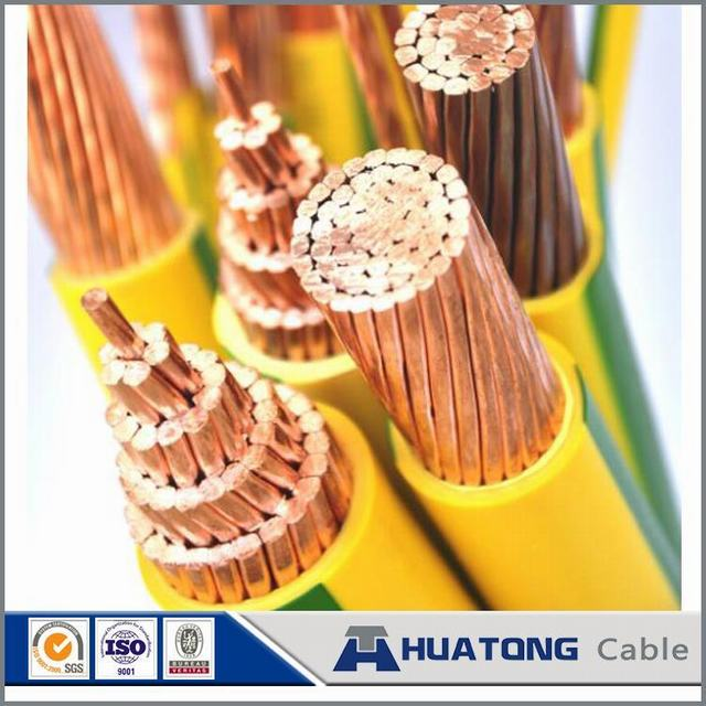China Manufacturer 1.5mm Copper Core PVC Insulated Solid Single Electrical Wire