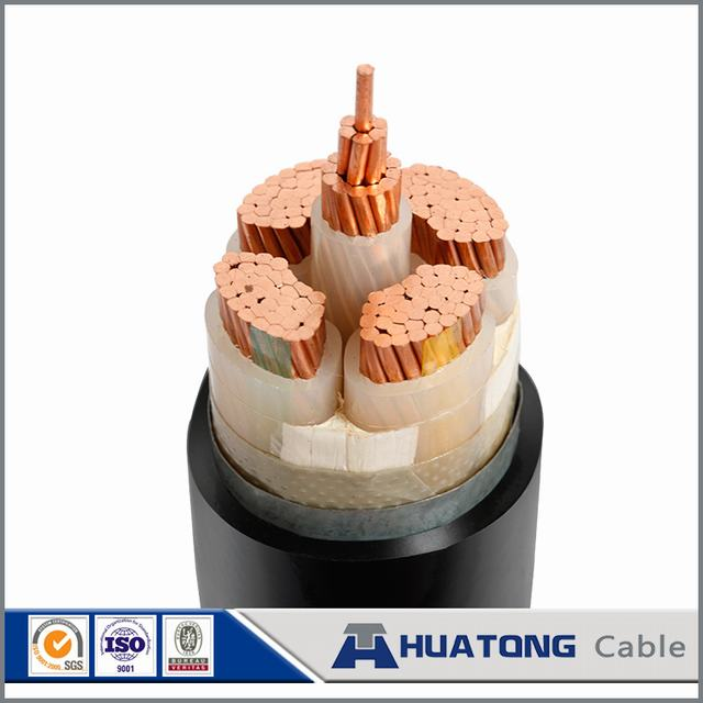 Customized Yjv Yjv22 Yjv32 V Low Voltage Types of Armored Cable Copper Ground Cable 4*25mm2