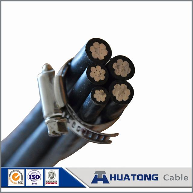 Factory Price Low Voltage Al Conductor XLPE Insulated Aerial Bundled Cable