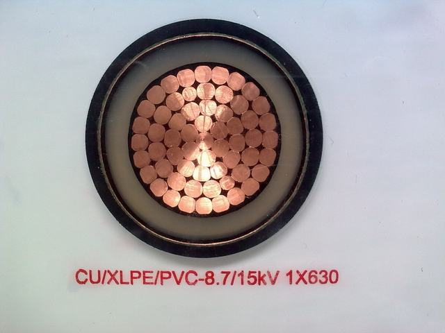 Flame Retardant White XLPE Insulated Power Cable