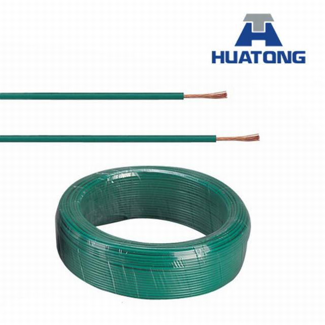 Flexible Flat Copper Cable with Earth Wire Cable