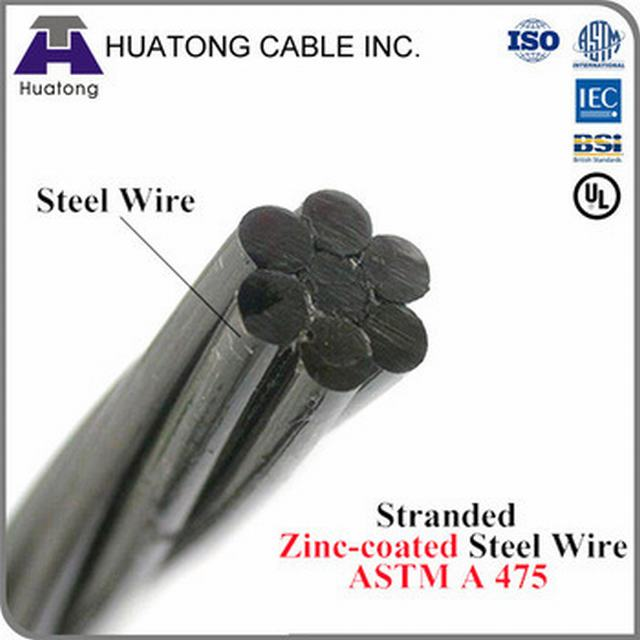 Gsw Stranded Galvanized Steel Wire Guy Wire Stay Wire