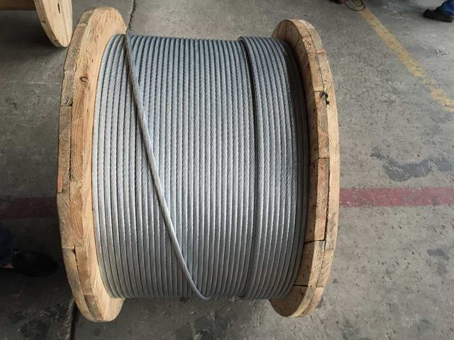 High Quality Galvanized Stainless Steel Wire / Guy Wire / Stay Wire with ASTM A475
