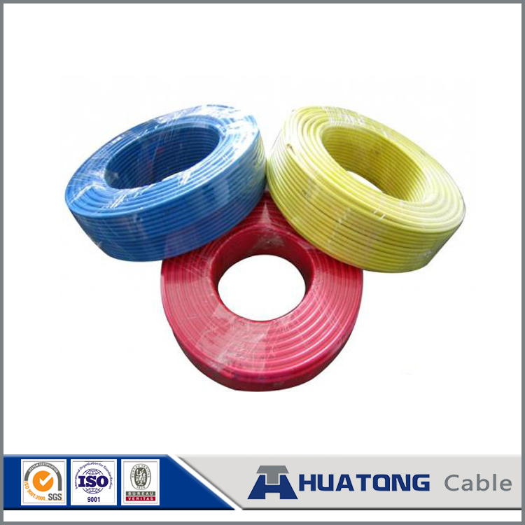 IEC 60227 Copper Conductor PVC Insulation Electric Wire BV 0.75mm2