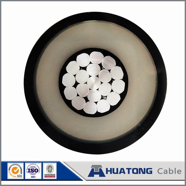 Mv Spaced Aerial 15/25/35kv Sac Cable with Aluminium Conductor