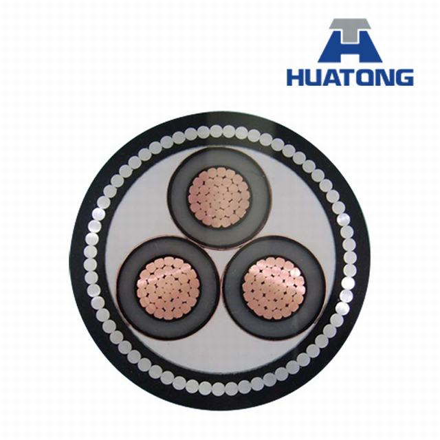 XLPE Insulated Steel Wire Armored PVC Sheathed Power Cable