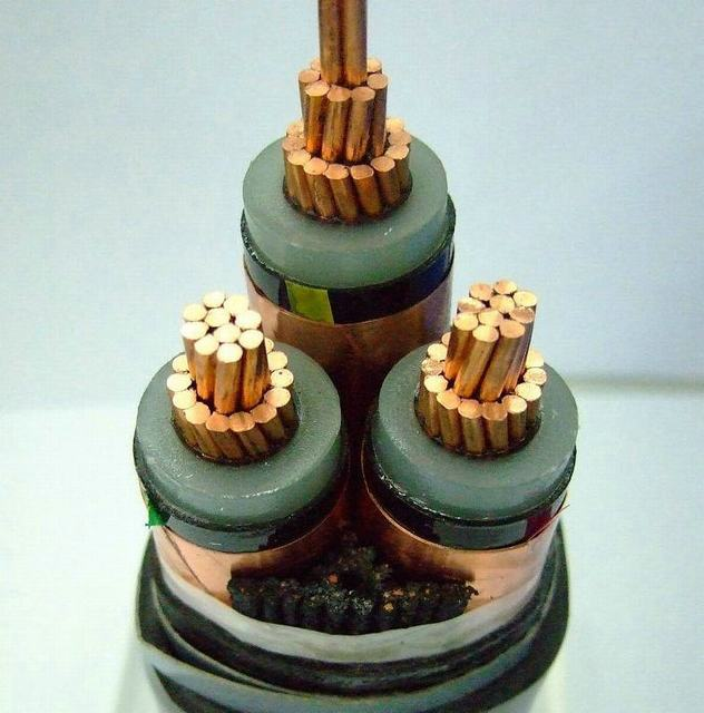 XLPE Insulation Copper Tape Insulation Three Cores Power Cable