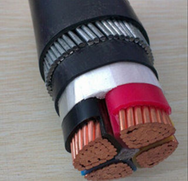 Yjv32 Cu/XLPE/PVC/Swa/PVC 0.6/1kv Power Cable