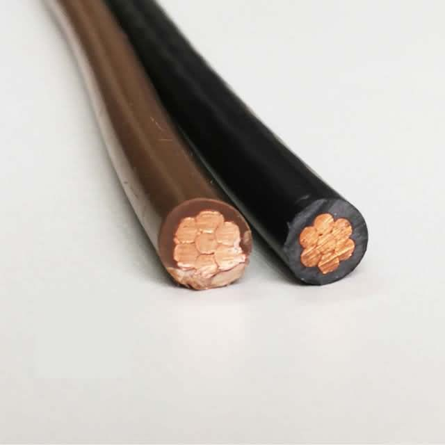 1/0AWG 1AWG 2AWG Thw Tw UL Copper PVC Electric Cable