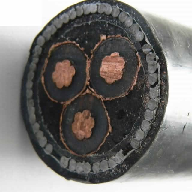 11kv 300mm2 XLPE Insulated 3 Core Armoured Cable