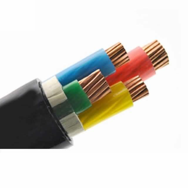 1kv 4 Cores 25mm2 35mm2 Copper Conductor XLPE Insulation PVC Sheath Cvv Cable