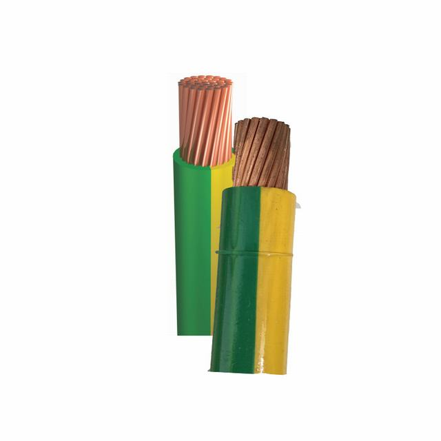 Cable de cobre de la tierra de 4 mm.