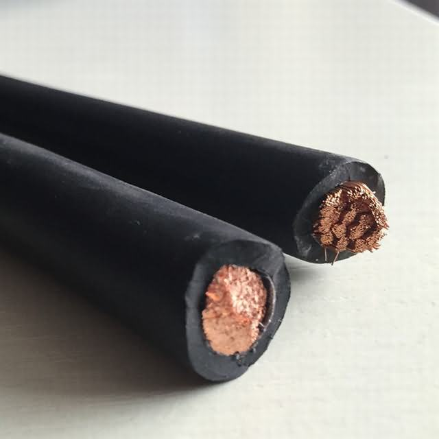 50mm2 Copper Wire Rubber Insulated Welding Cable