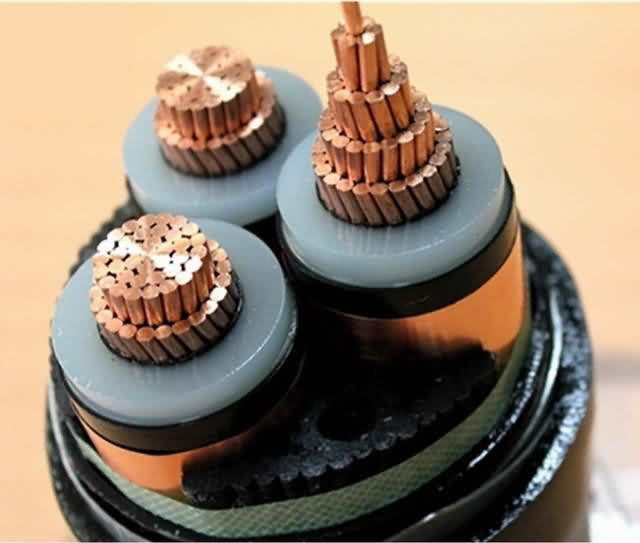 8.7/15kv Mv Power Cable Al Conductor 3X70mm2 Three Core XLPE Insulation Steel Tape Armored Electrical Power Cable